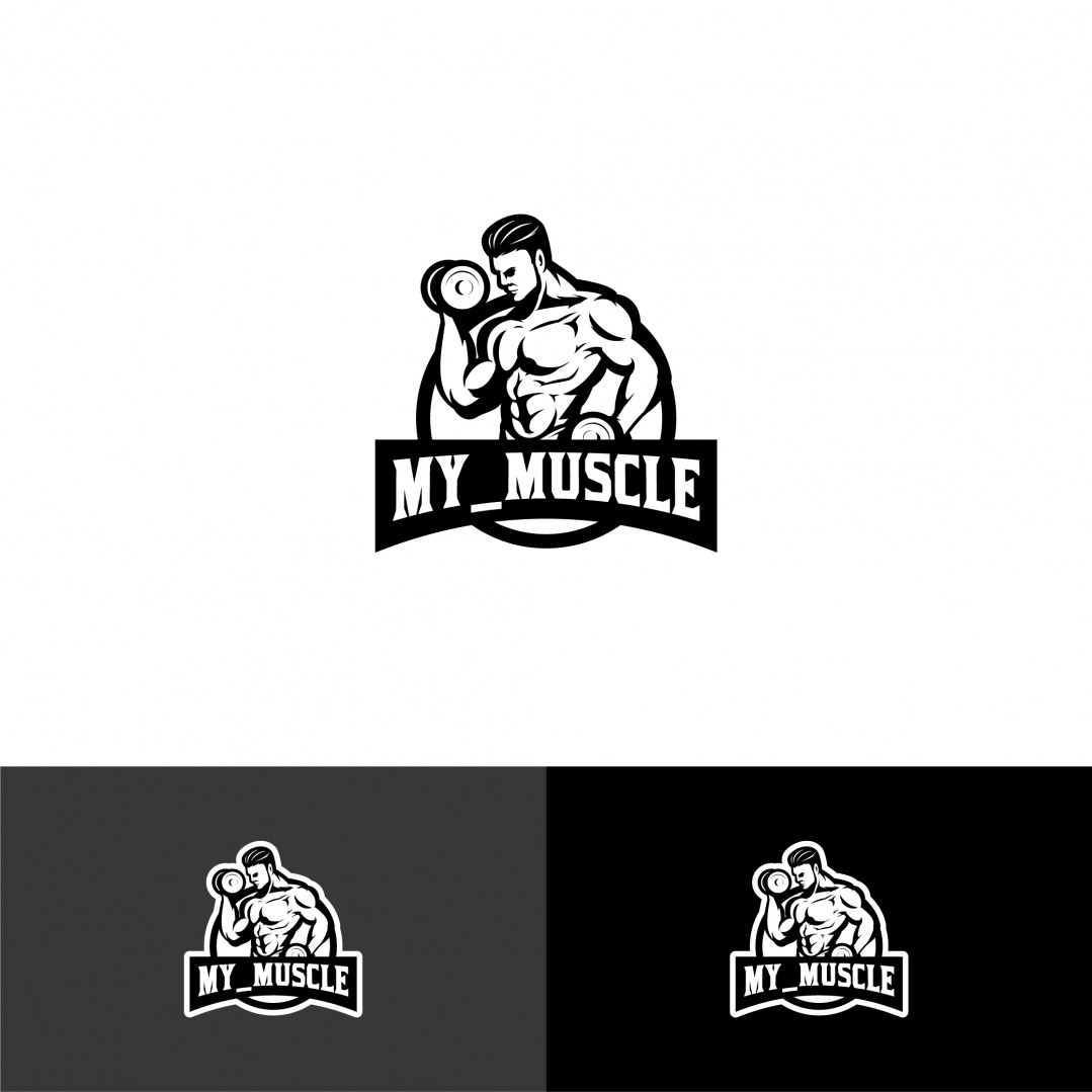 Logo Muscle Gym