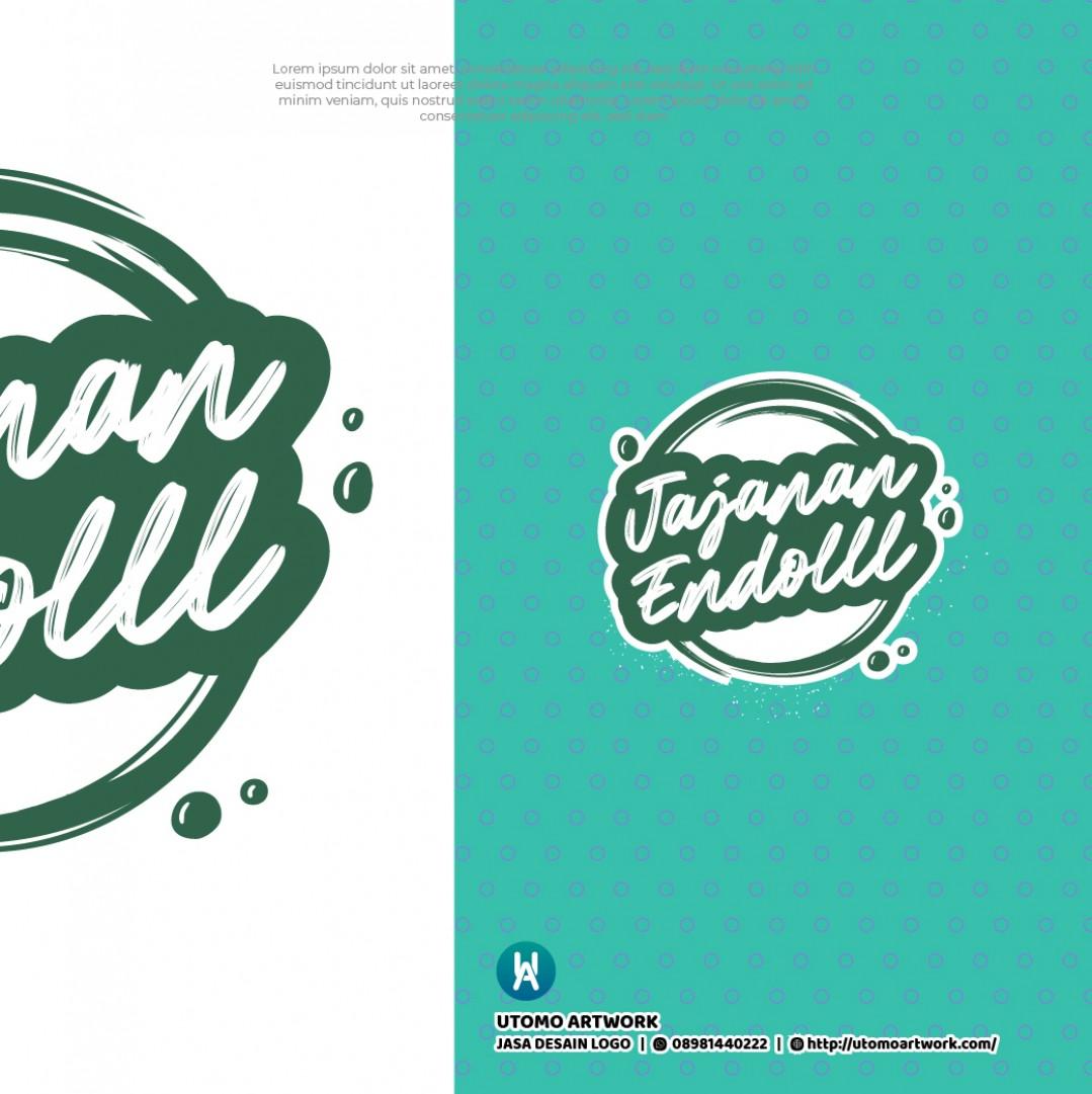 Desain Logo Jajanan Endols