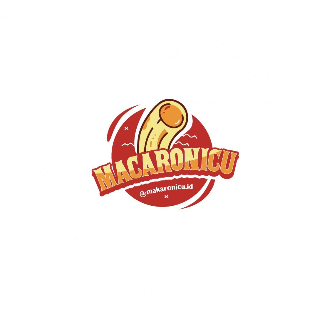 Desain Logo Macaronicu