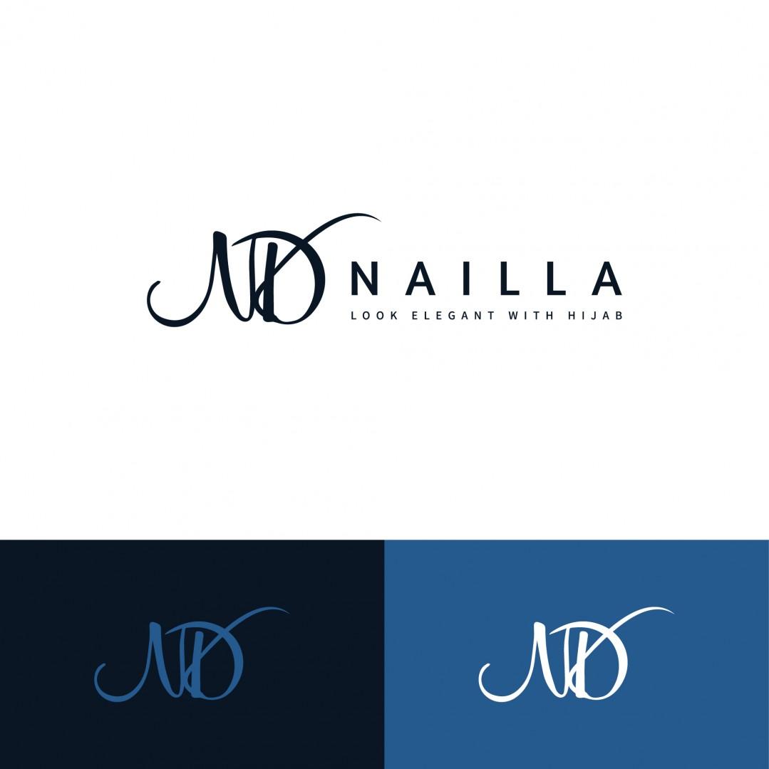 Desain Logo Nailla