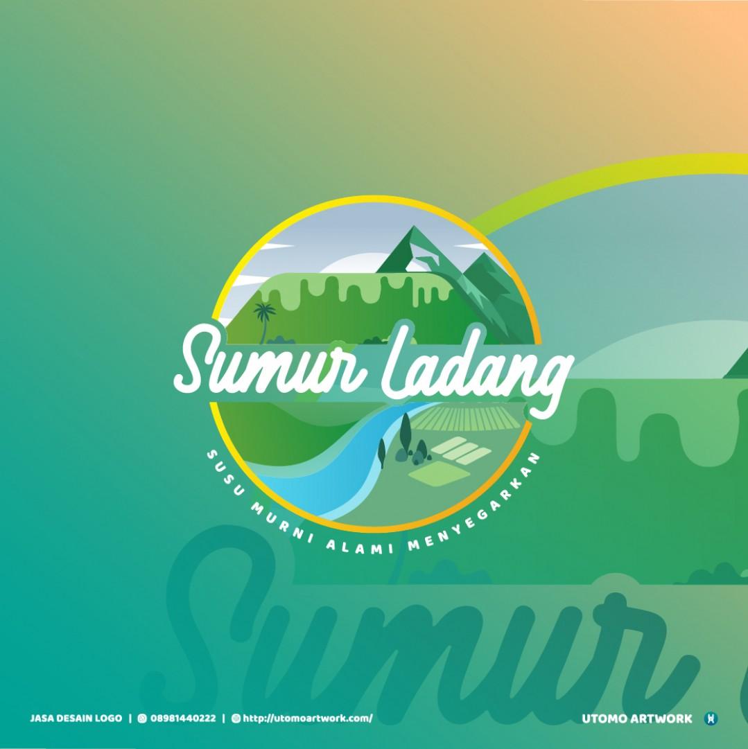 Desain Logo Sumur Ladang