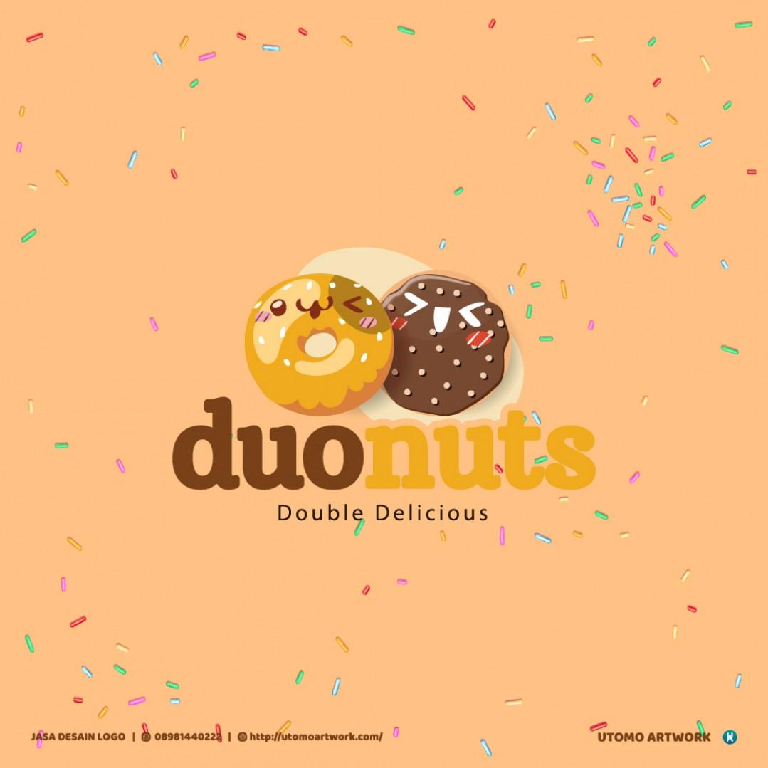 Pembuatan Logo Duonuts