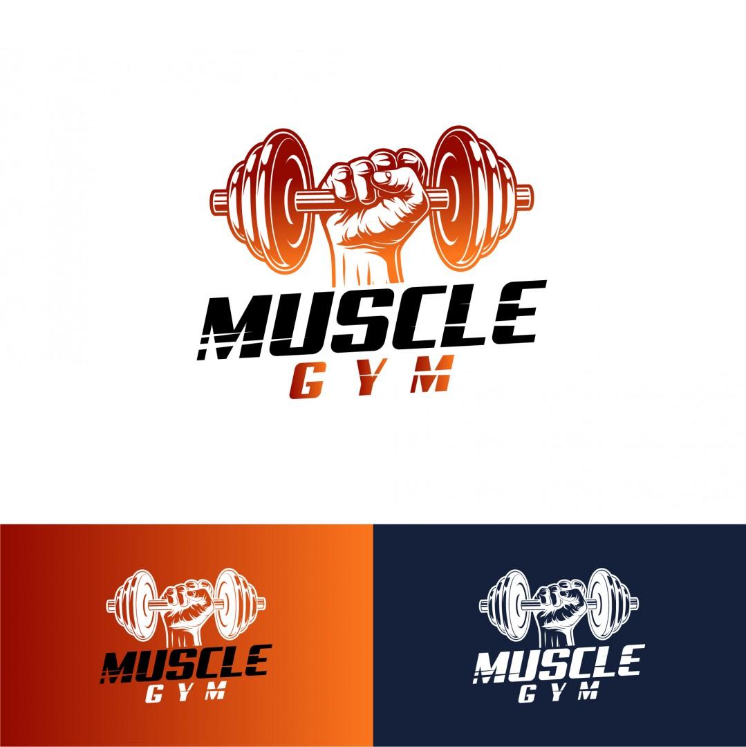 Desain Logo Gym