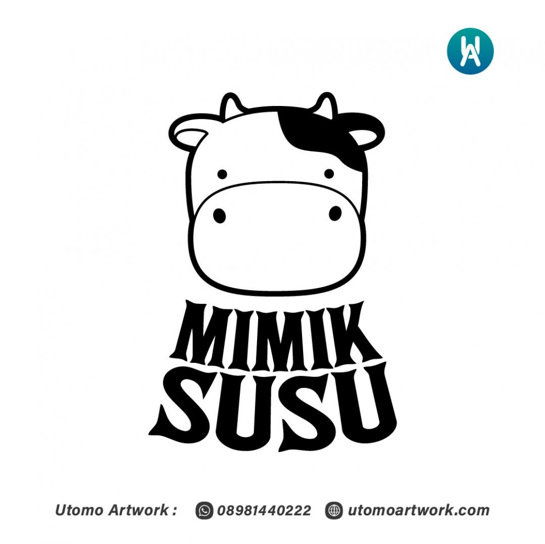 Logo Usaha Mimik Susu