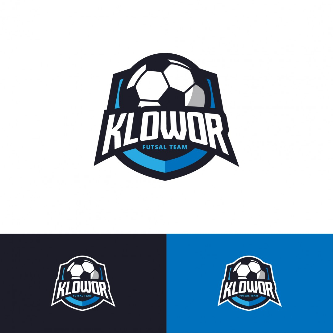 Desain Logo Futsal Team Klowor
