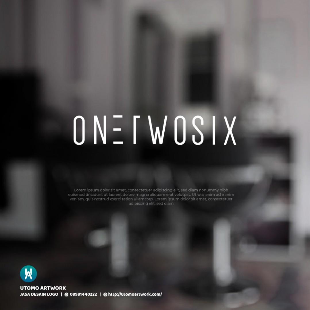 Desain Logo Onetwosix