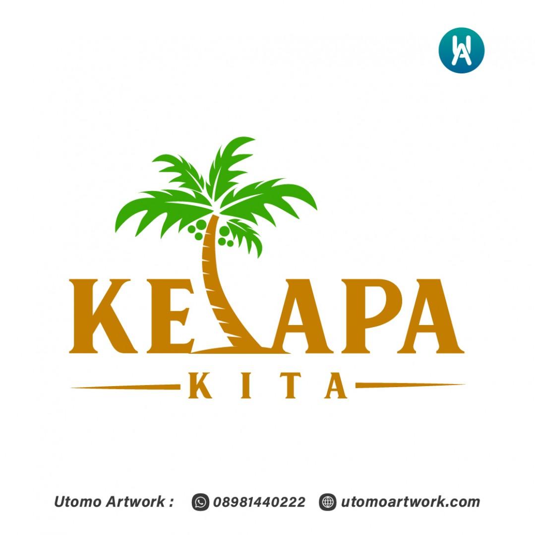 Desain Logo Kelapa Kita