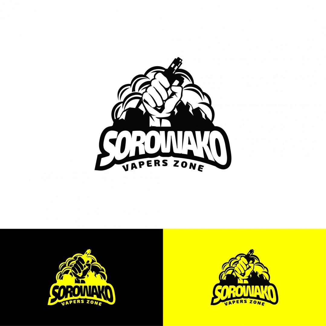 Desain Logo Vape