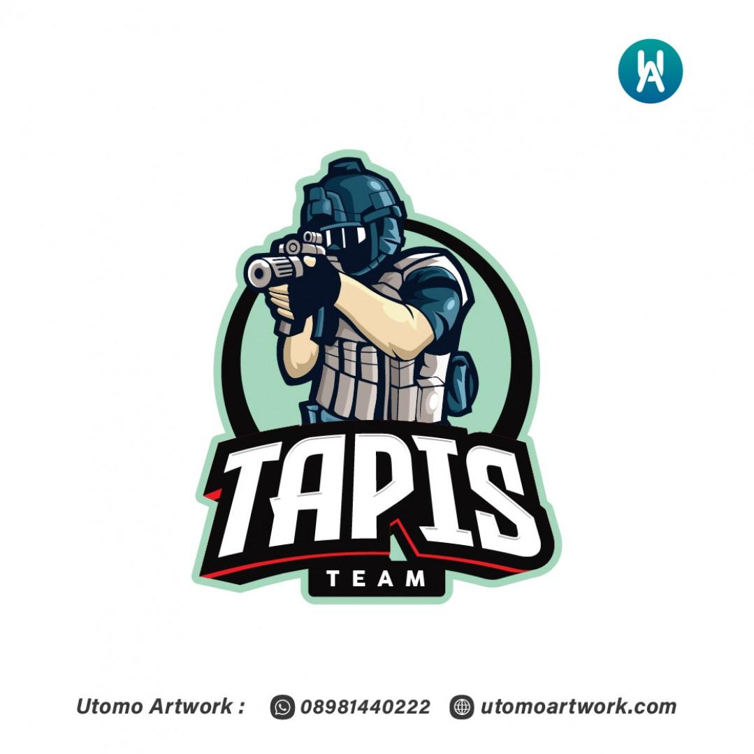 Desain Logo Esport Tapis Team