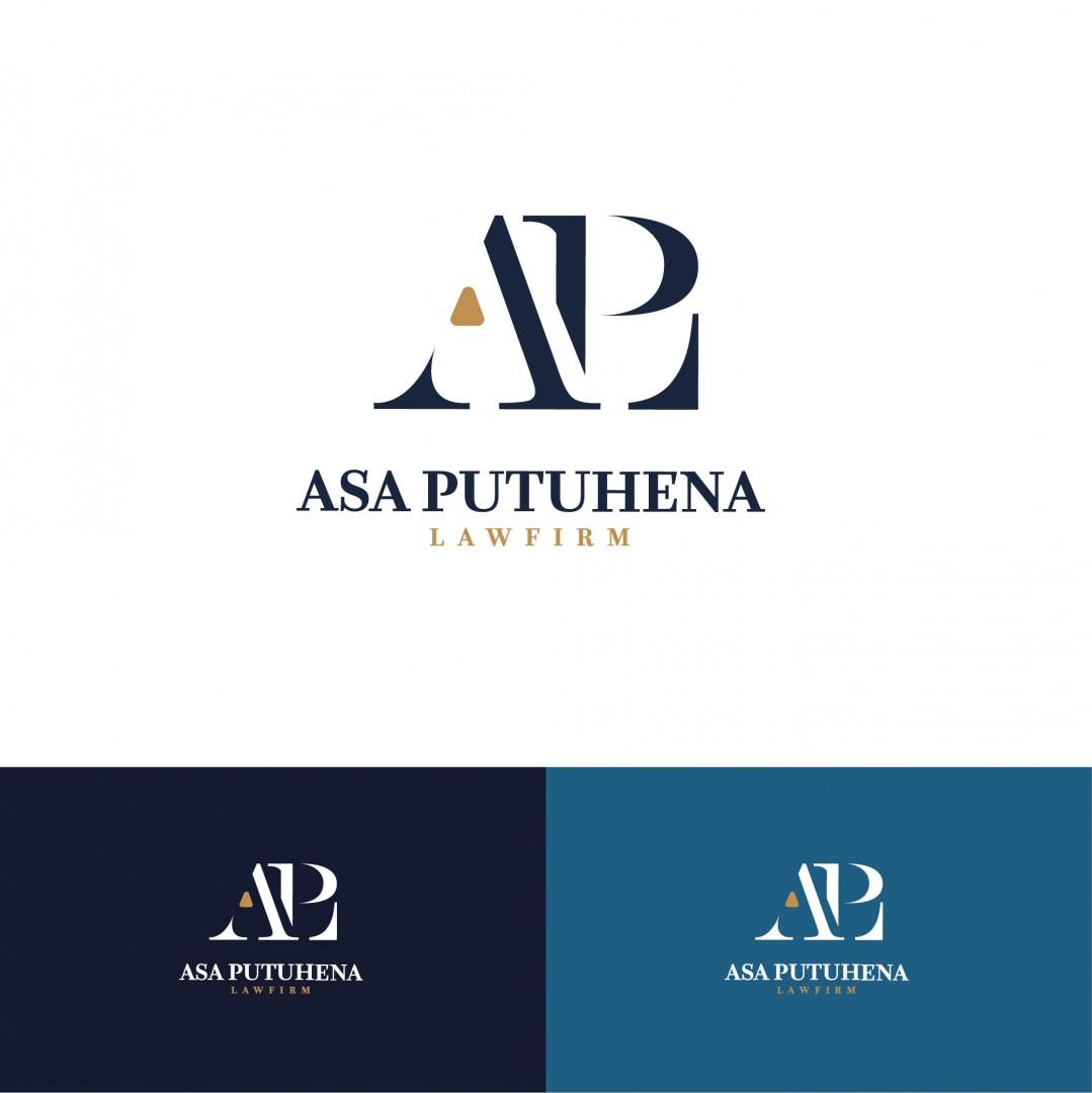Desain Logo Asa Putuhena Lawfirm