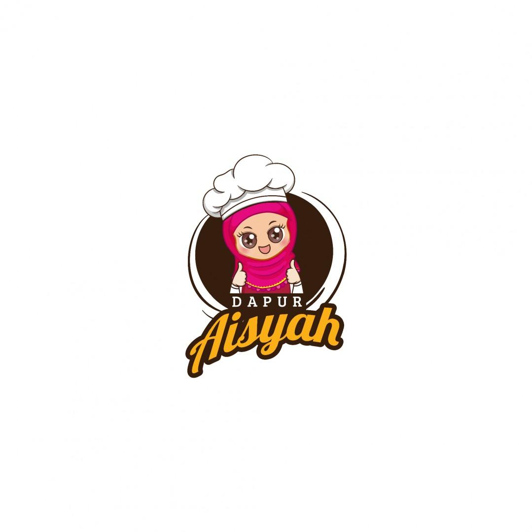 Desain Logo Catering Dapur Aisyah