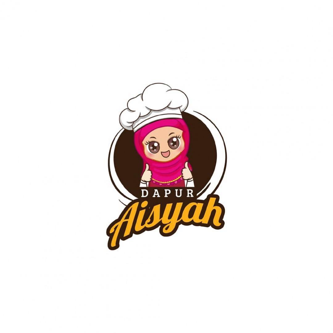 Desain Logo Dapur Aisyah