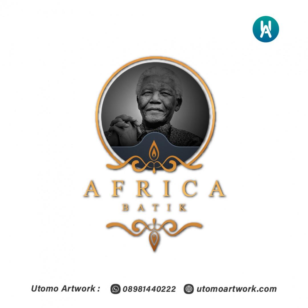 Desain Logo Africa Batik