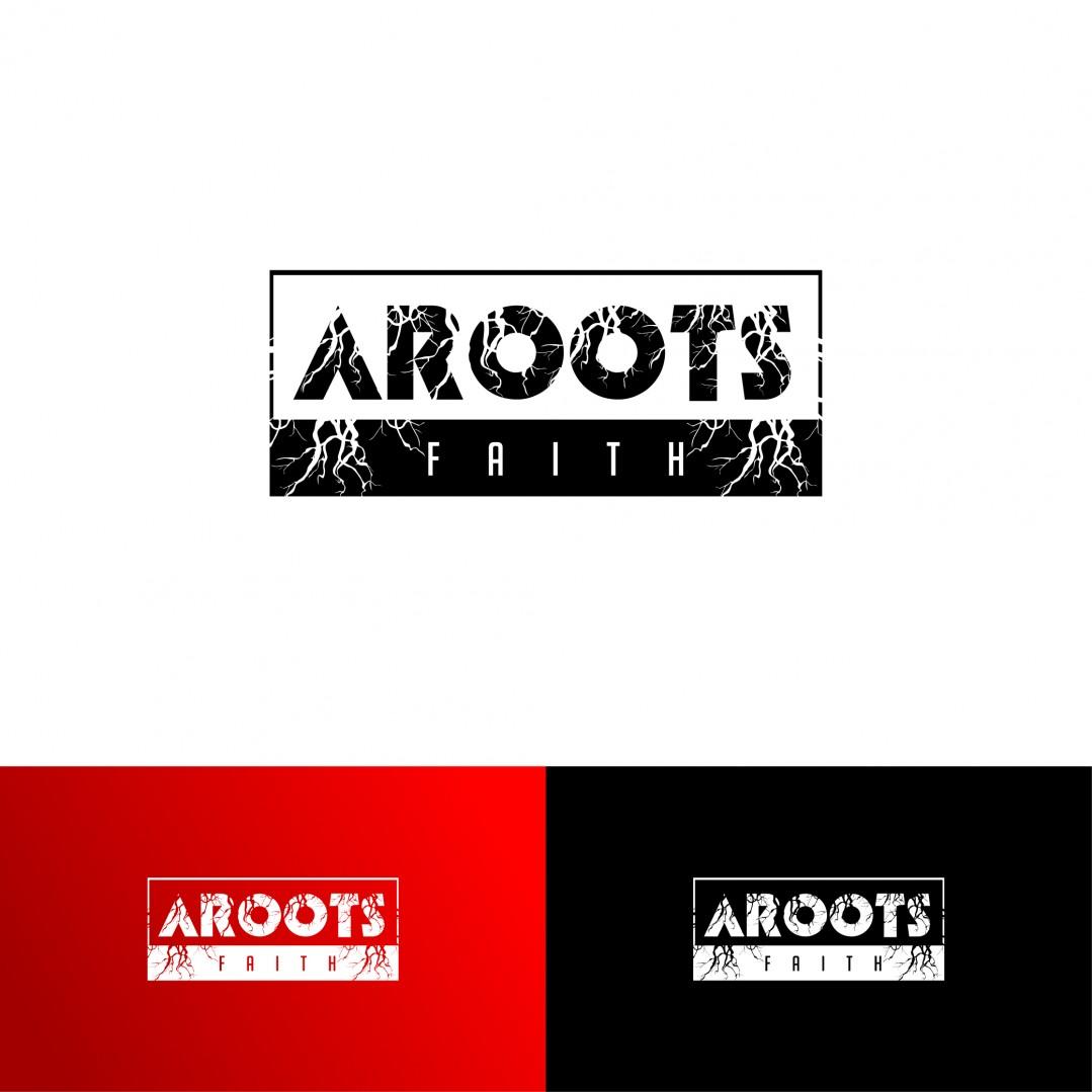 Desain Logo Clothing AROOTS