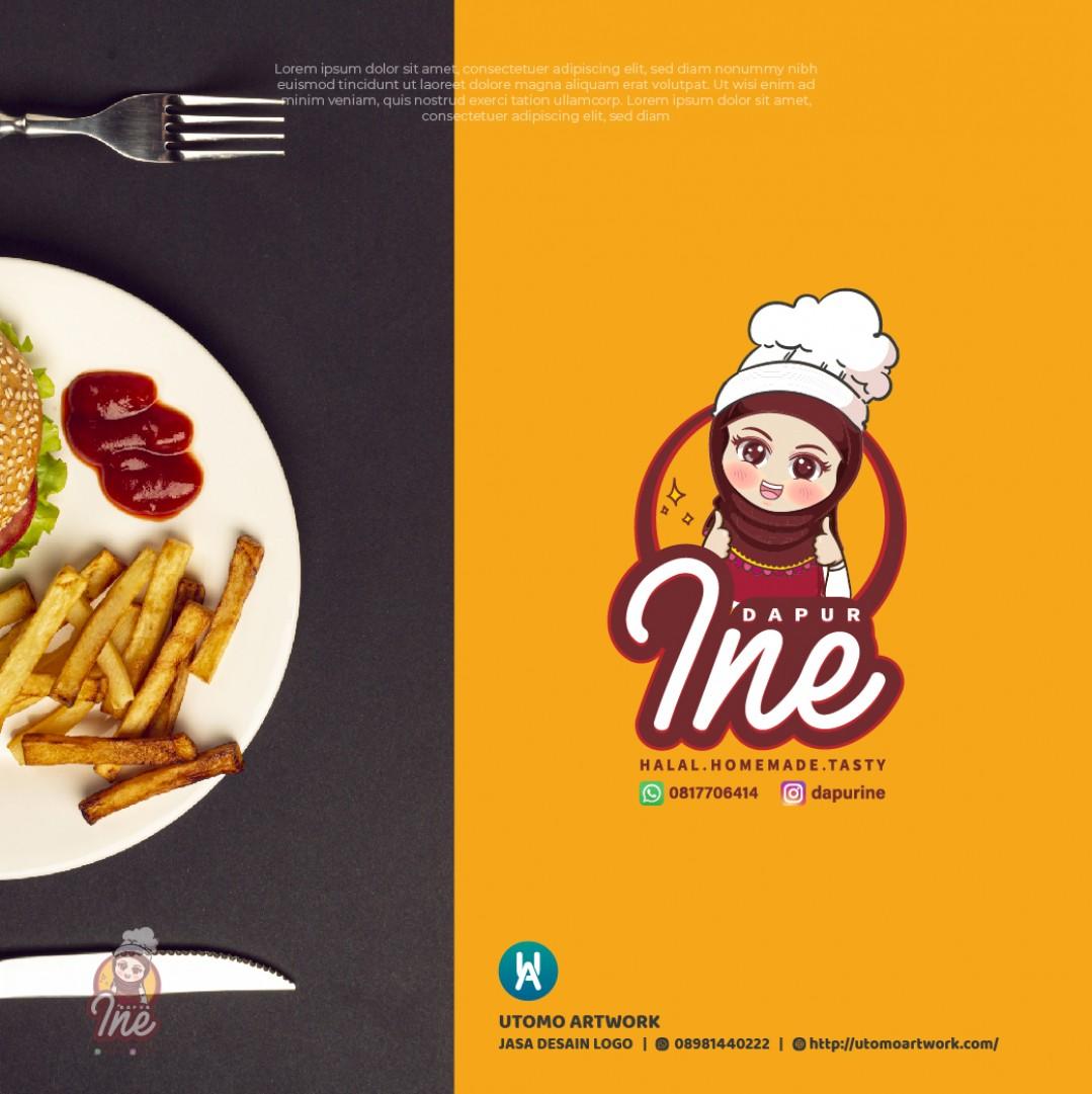 Jasa Logo Dapur Ine