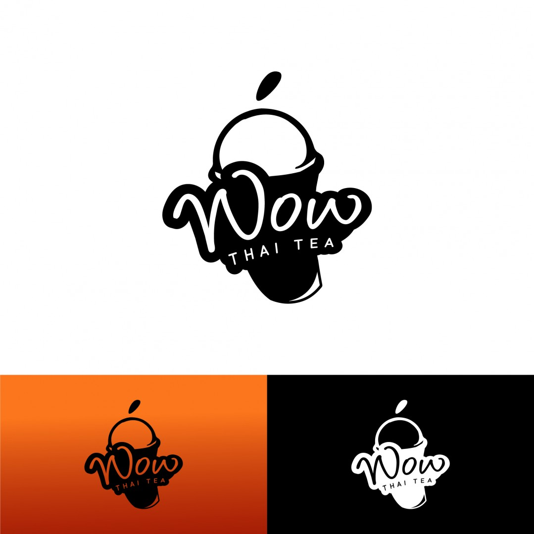 Logo Wow Thai Tea