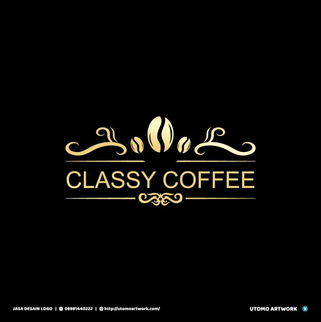 Pembuatan Logo Classy Coffee