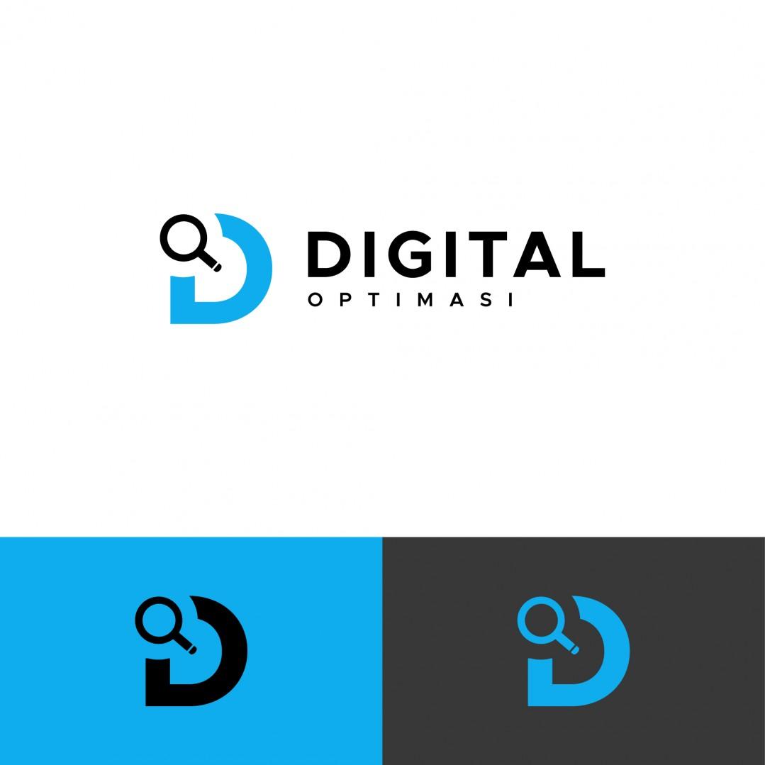 Desain Logo Digital Optimasi