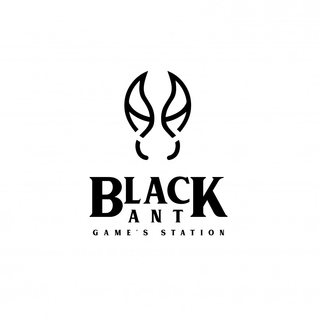 Desain Logo Black Ant Game