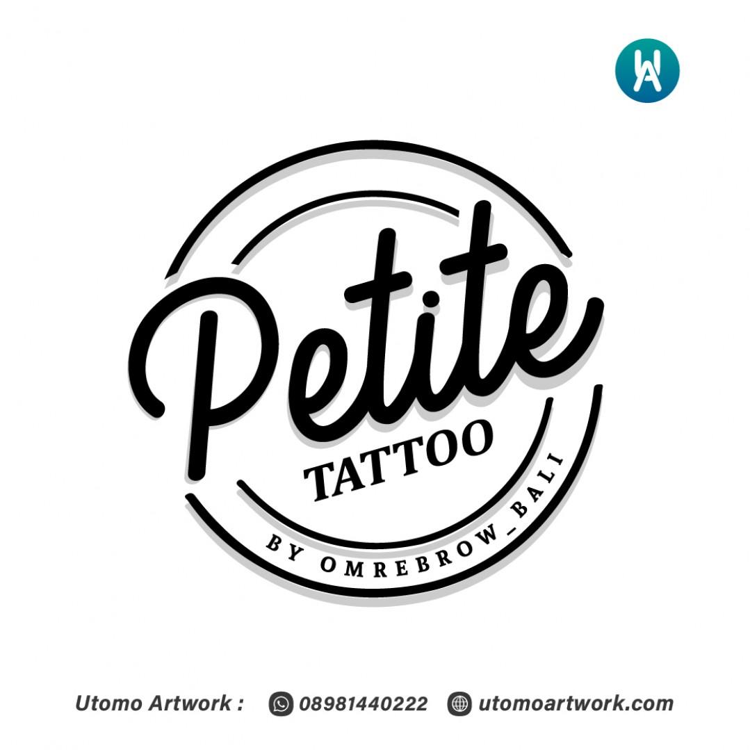 Desain Logo Petite Tattoo