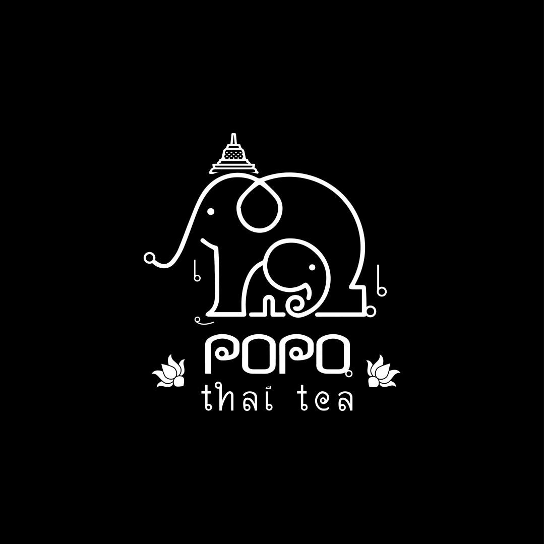 Desain Logo POPO THAITEA
