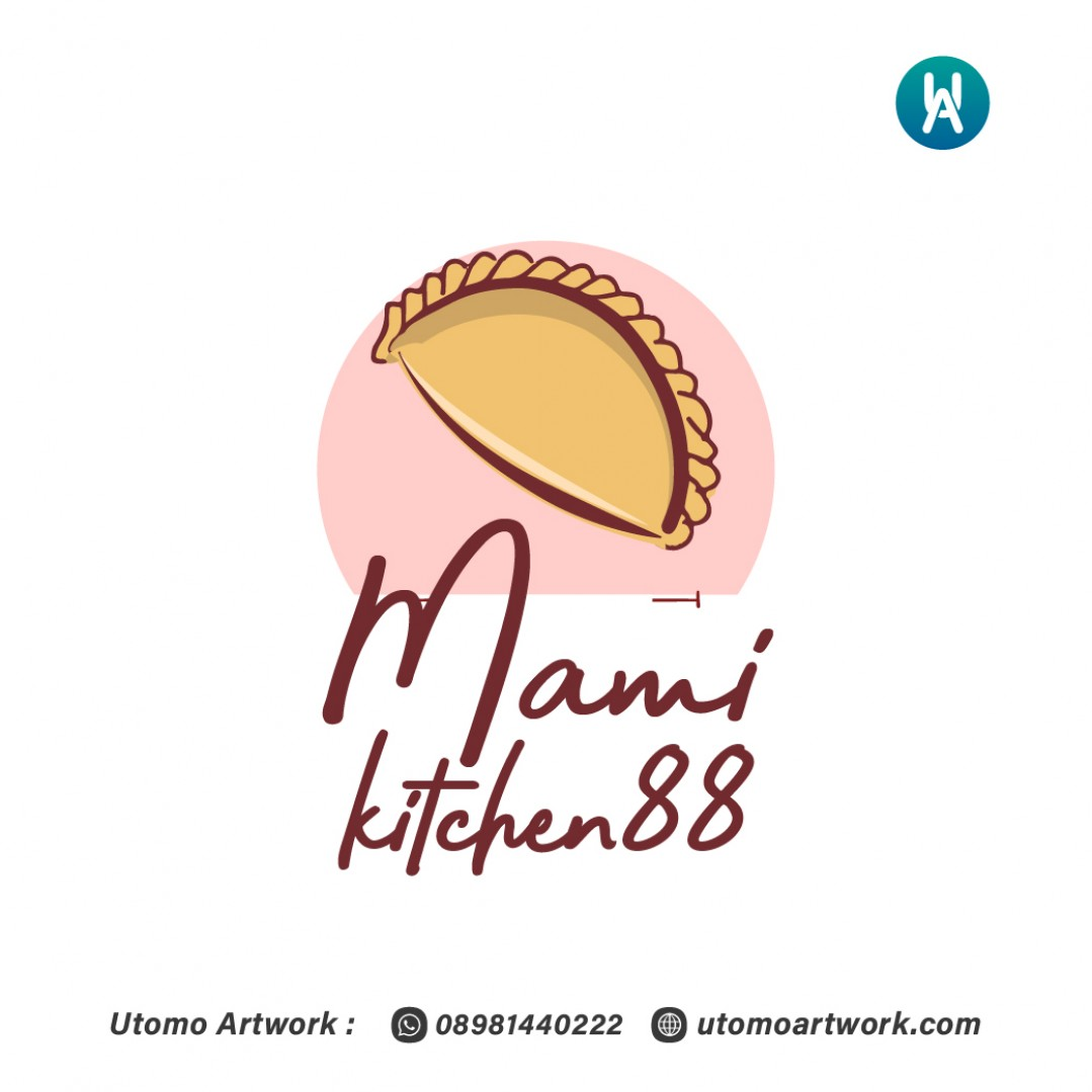Pembuatan Logo Mami Kitchen88