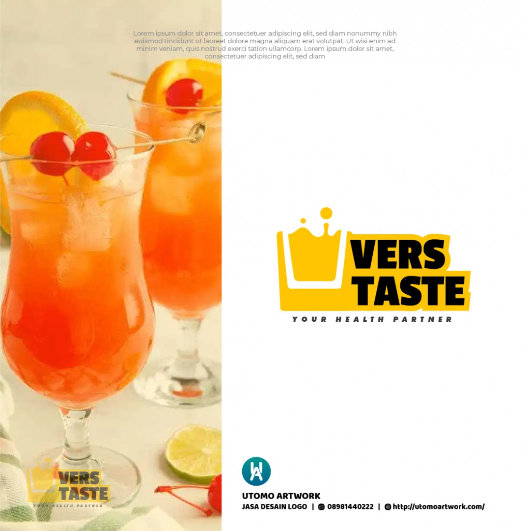 Logo  Minuman Vers Taste