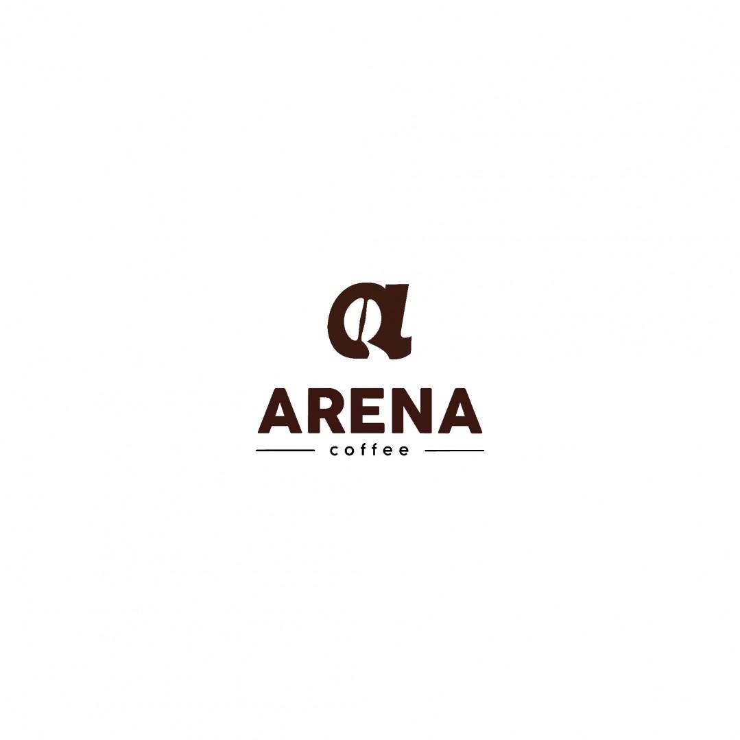 Desain Logo Arena Coffee