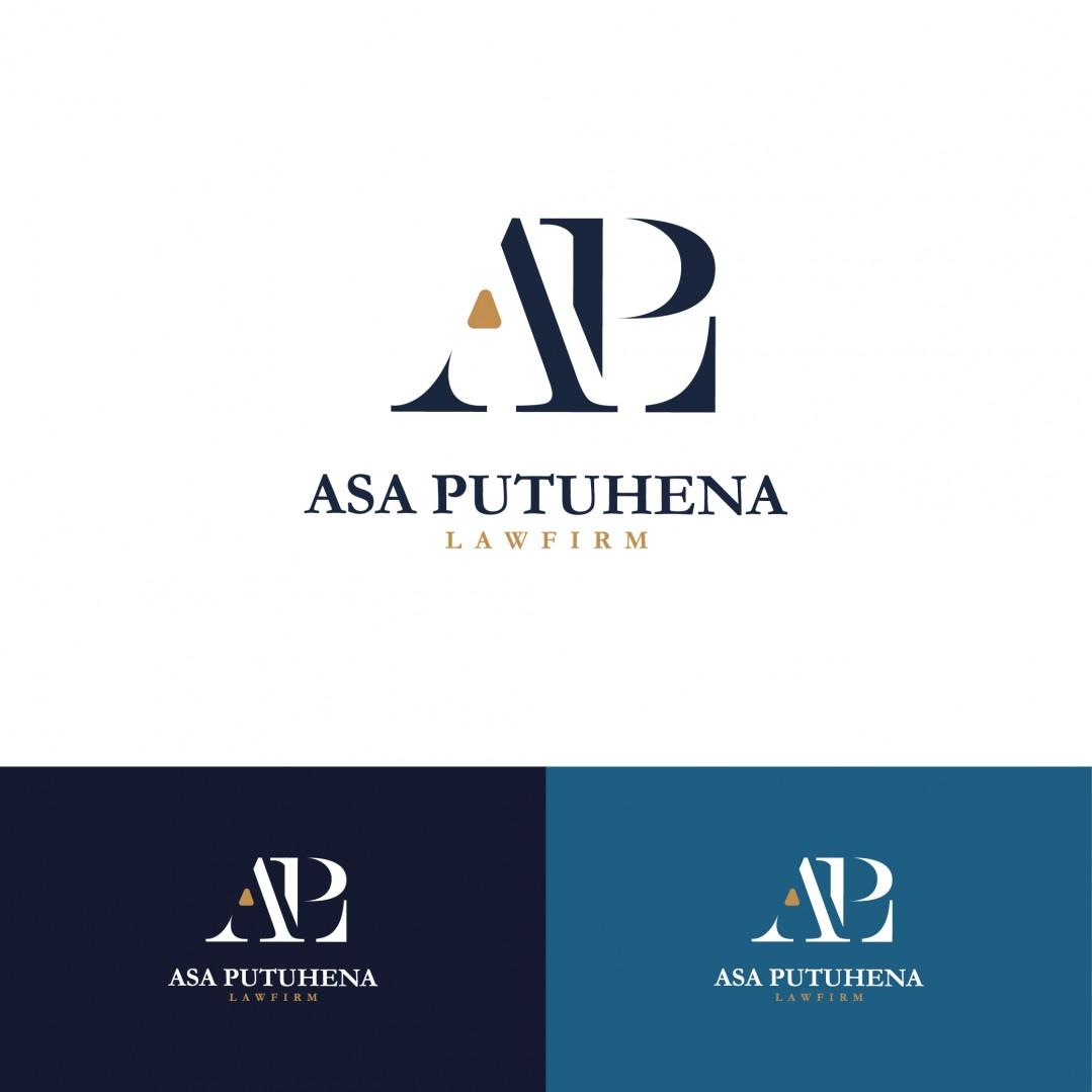 Desain Logo Asa Putuhena Law Firm