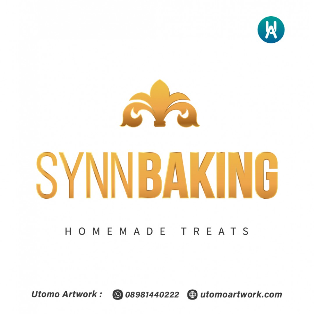 Desain Logo Synn Baking
