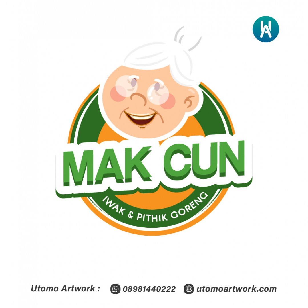 Logo Warung Makan Mak Cun