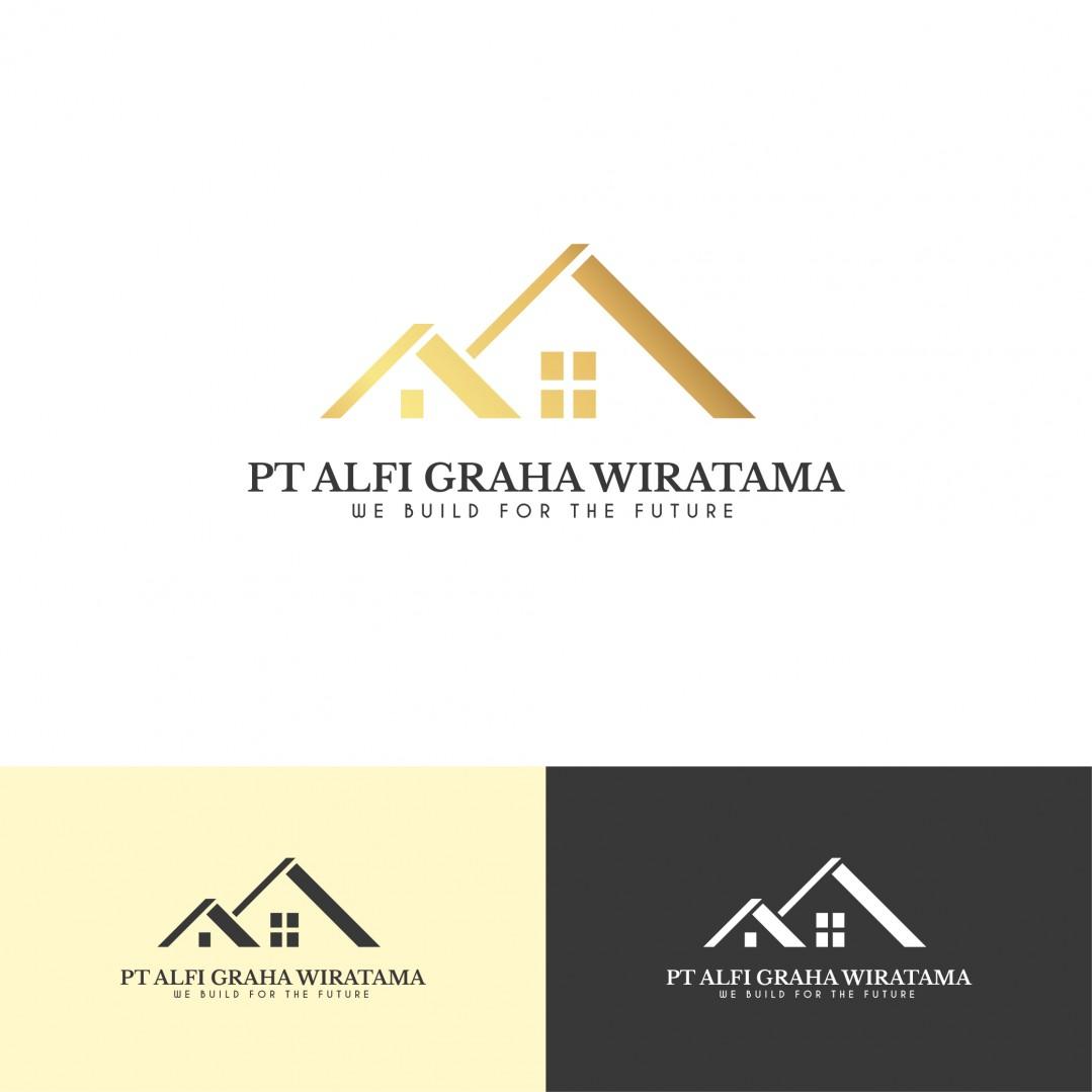 Desain Logo PT Alfi Graha Wiratama