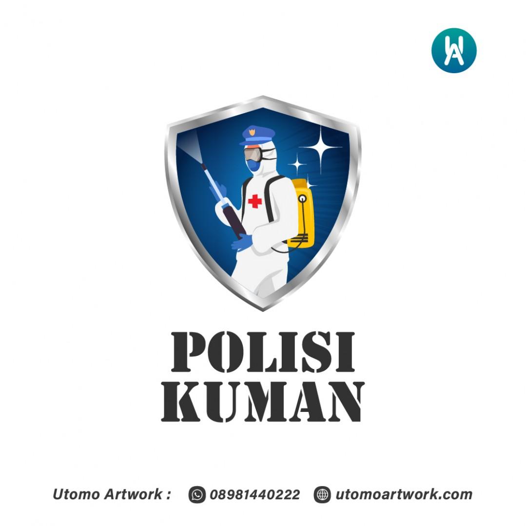 Desain Logo Polisi Kuman