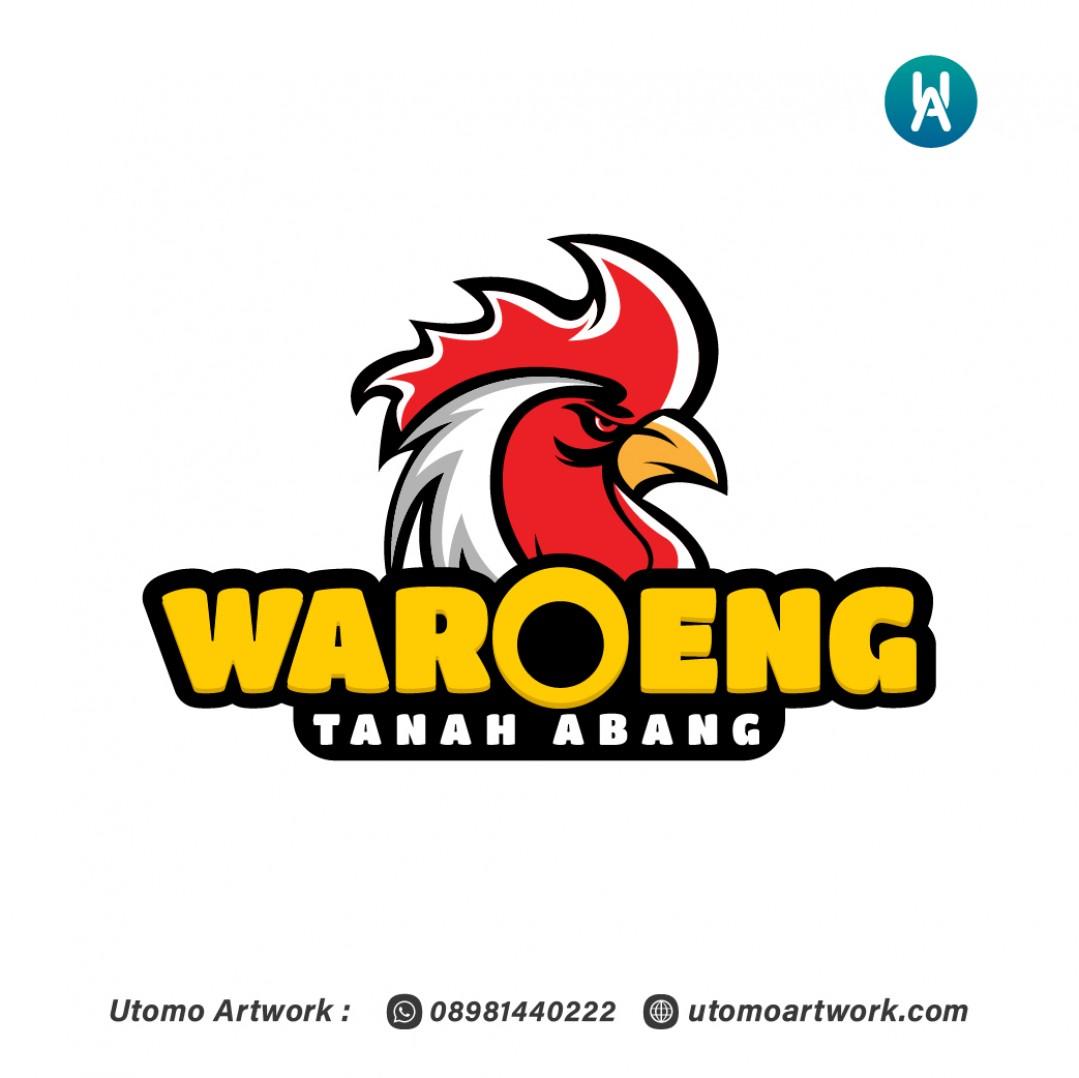 Desain Logo Waroeng Tanah Abang