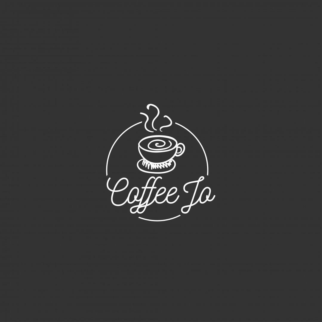 Desain Logo:  Desain Logo Coffeejo