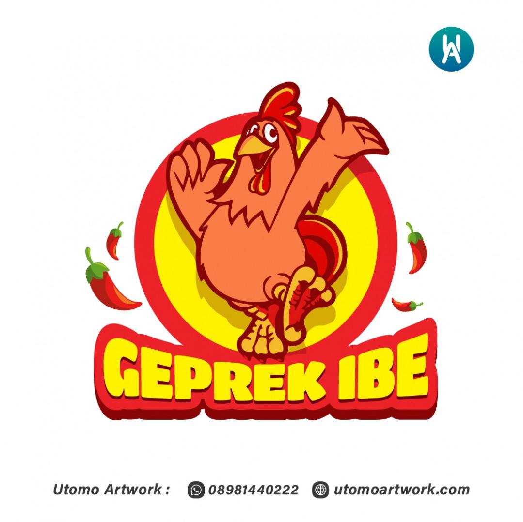 Logo Geprek Ibe