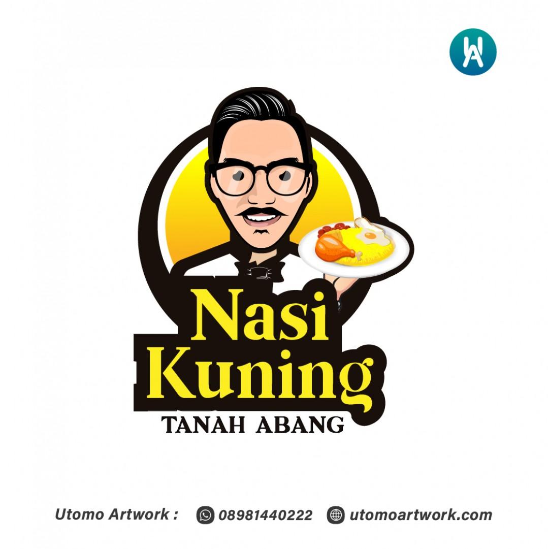 Desain Logo Nasi Kuning Tanah Abang