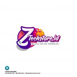 Desain Logo Ztech Store