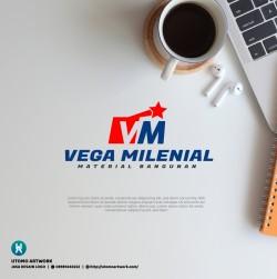 Desain Logo Vega Millenial