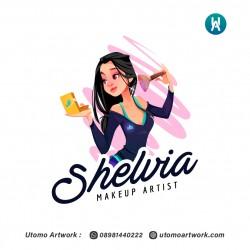 Shelvia Logo