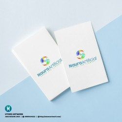 Desain Logo Naura Artificial
