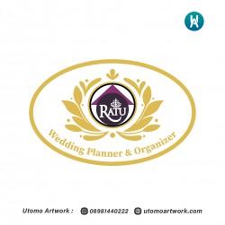 Desain Logo Untuk Ratu Wedding Planner