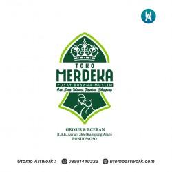 Pembuatan Logo Toko Merdeka