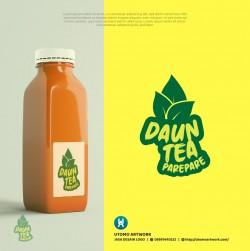 Logo Daun Tea