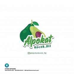 Pembuatan Logo Alpukat Kocok DJJ