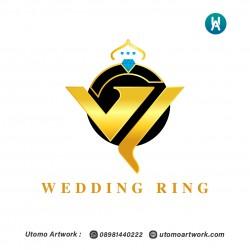 Desain Logo Wedding Ring