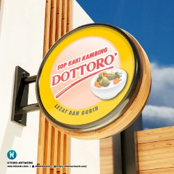 Sop Kaki Kambing Dottoro Logo