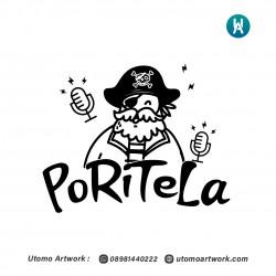 Logo Poritela Podcast