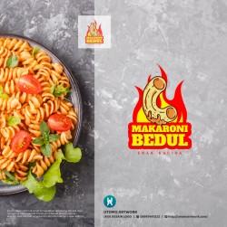Desain Logo Makaroni Bedul