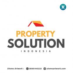 Desain Logo Property Solution